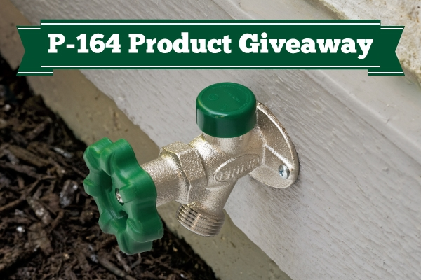 Product Giveaway: P-164 Quarter-Turn Wall Hydrant