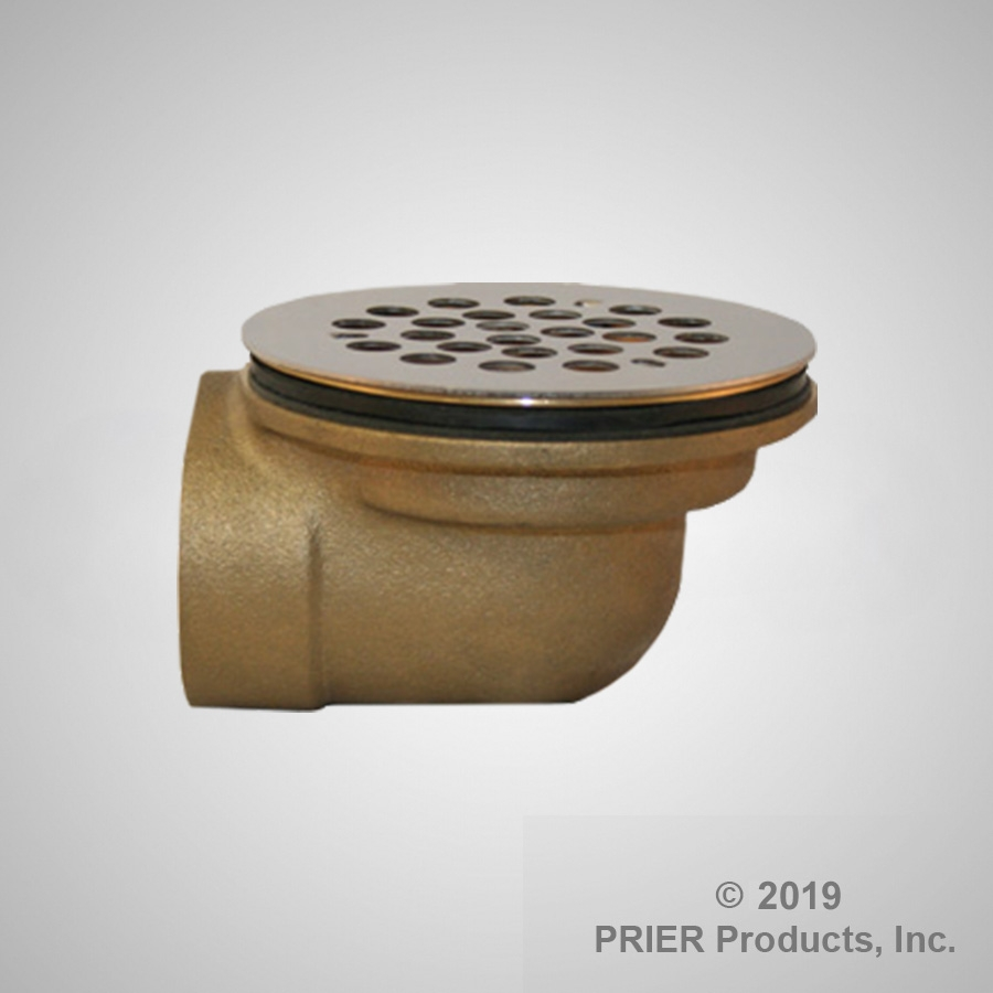 90 Degree Low Profile Shower Drain.P 312 Angle Style Shower Drain